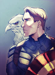 Captain America by MabyMin