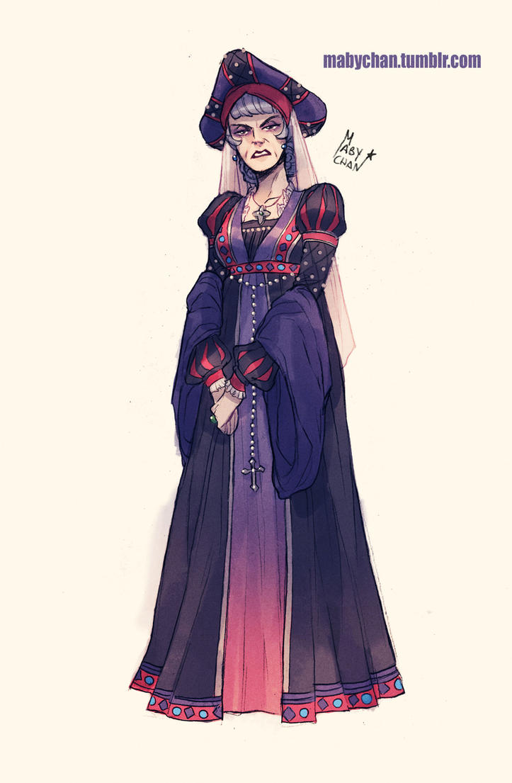 Fem!Frollo by Maby-chan
