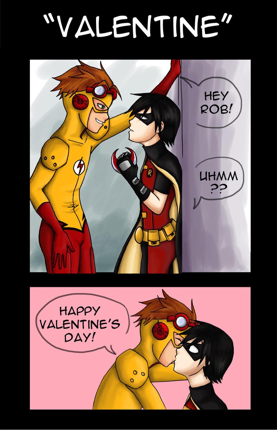 Kf x Robin Valentine's contest by AlejaS