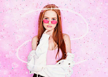 Madelaine pink wallpaper by LeticiaDmscn