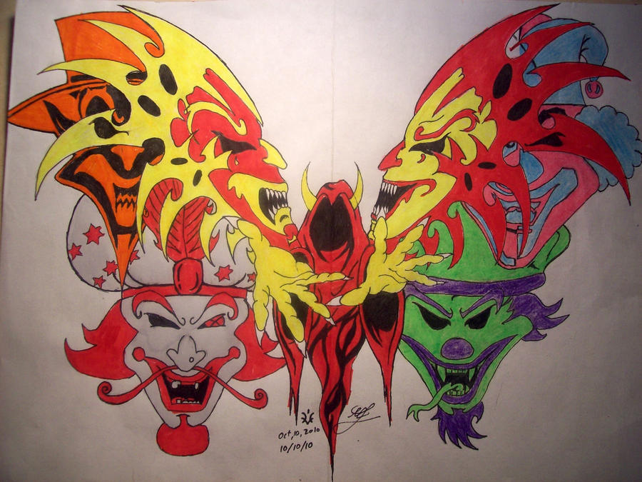 Juggalo Butterfly by DarkRein82