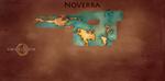 Noverra Map by LibertyMae