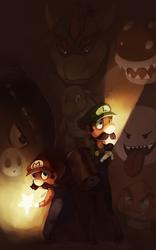 Mario Brothers by LibertyMae