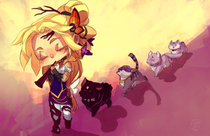 CM: Kitty Parade by LibertyMae