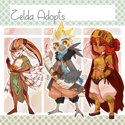 Adopts: Zelda Races (Closed) by LibertyMae