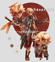 Adopt: The Ruby Dueler (Closed) by LibertyMae