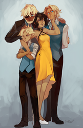 McFaogh Family by LibertyMae