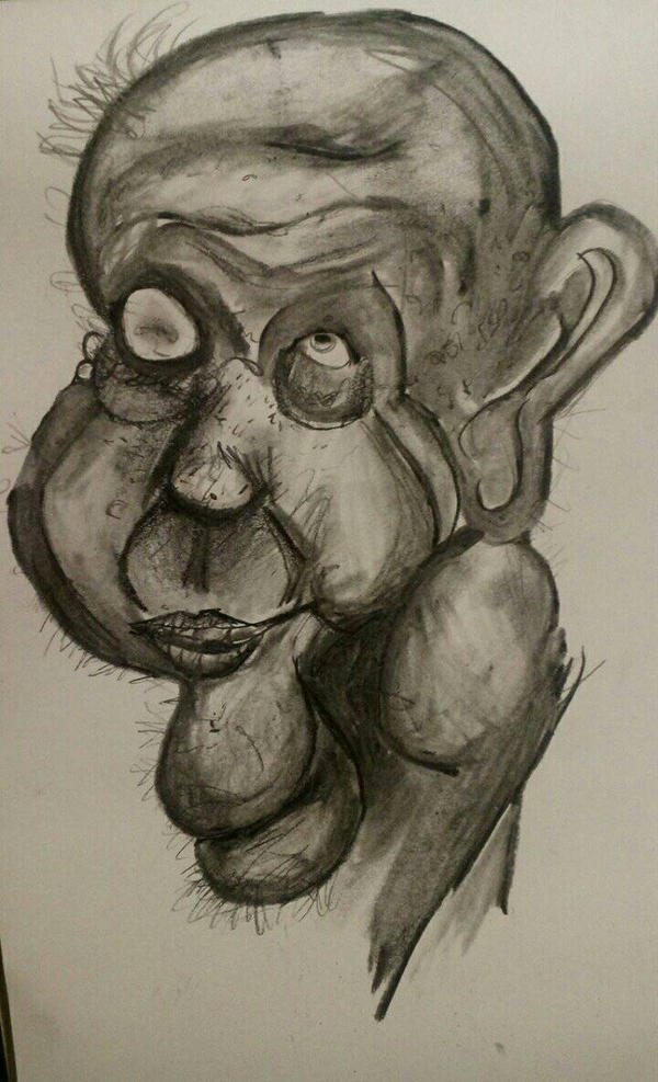 self-portrait  by Minus-Eleven