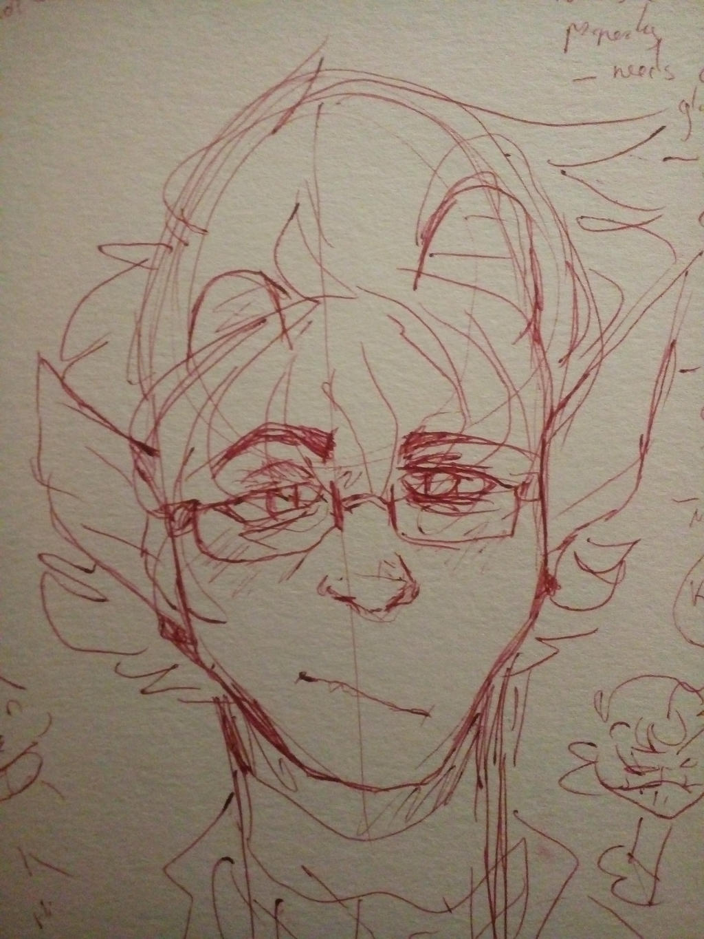his horns won't grow properly someone help by Minus-Eleven