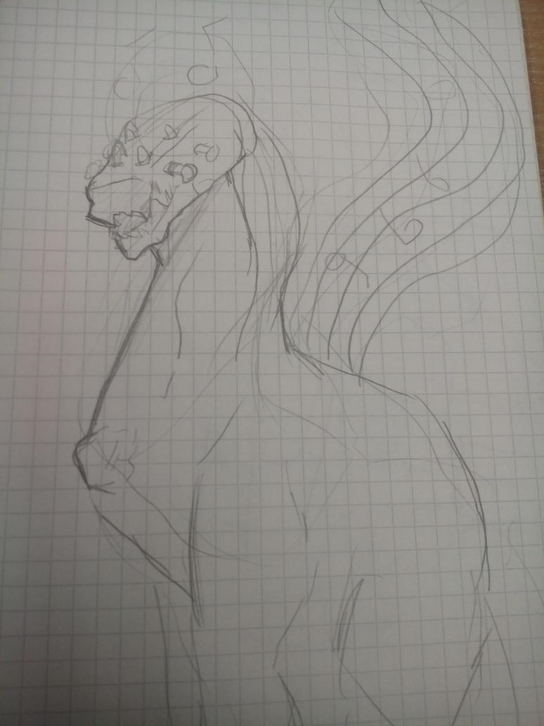 ukulele dragon  by Minus-Eleven