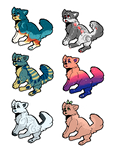 Pixel Doggo adopts! (OPEN, 10 POINTS EACH) (6/6) by Minus-Eleven