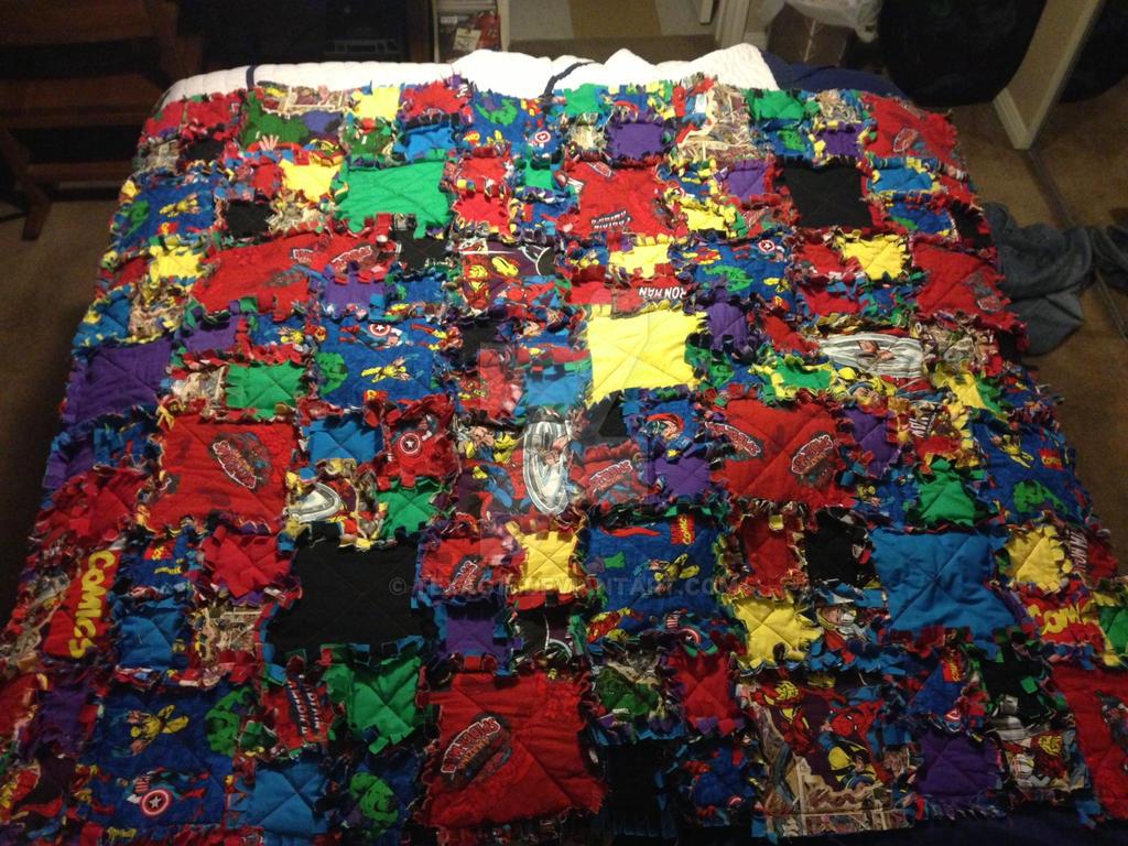 Marvel Rag Quilt by texag15 on DeviantArt : marvel quilt - Adamdwight.com