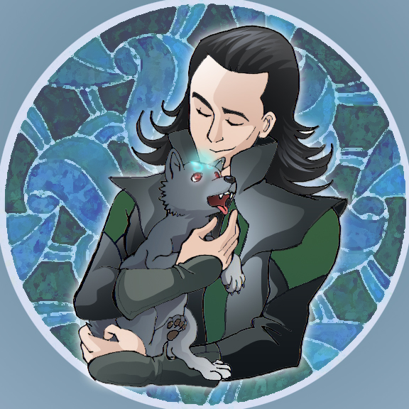 Loki and Fenrir by Aerinn-I on DeviantArt |Loki Fenrir