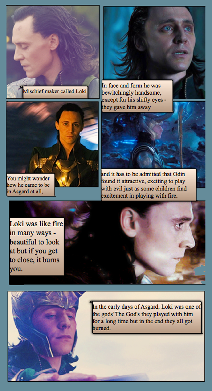 Love letter to Loki by theperfectbromance