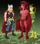 Thor vs. Mephisto
