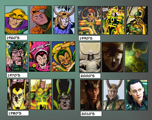 The Evolution of Loki by theperfectbromance