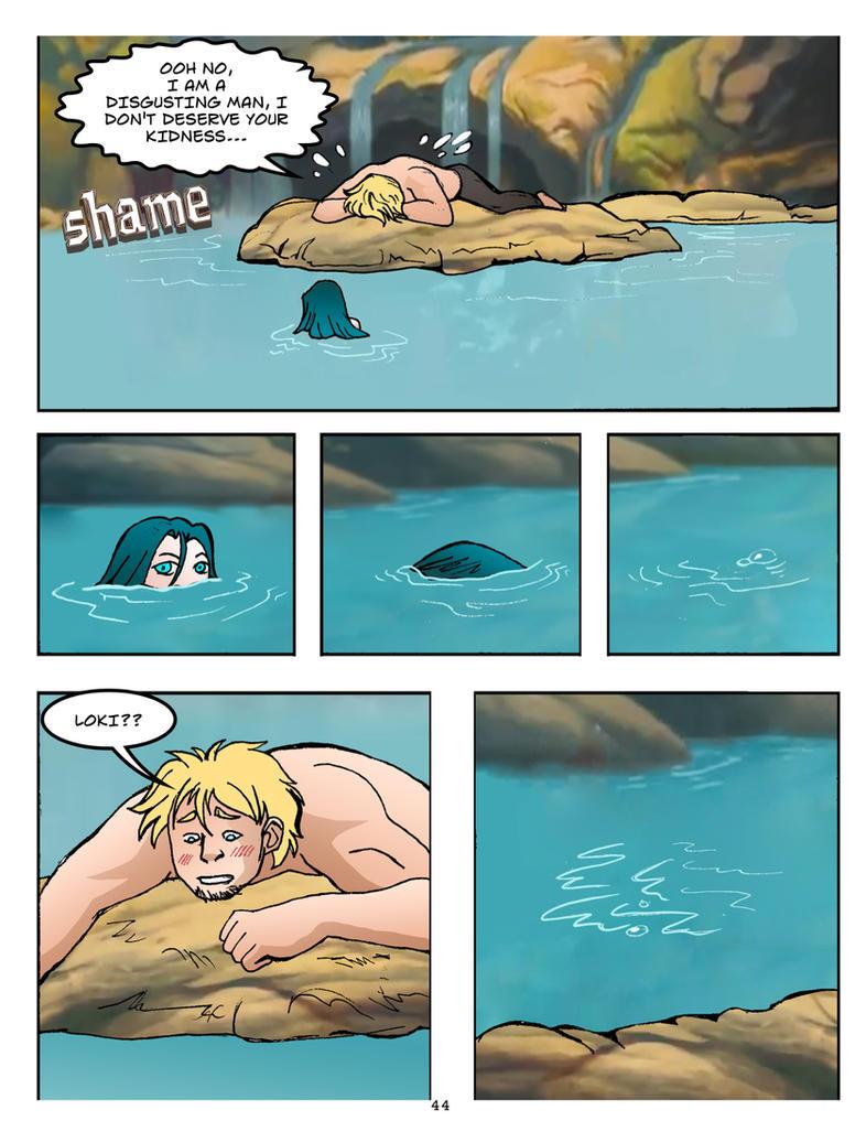 Thorki Mer comic p.44 by theperfectbromance on DeviantArt