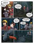 Werewolf AU page 3