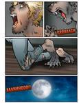 Werewolf AU page 30