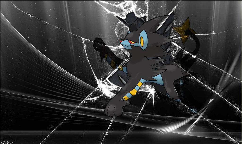Luxray Wallpaper HD By Zedrache1991