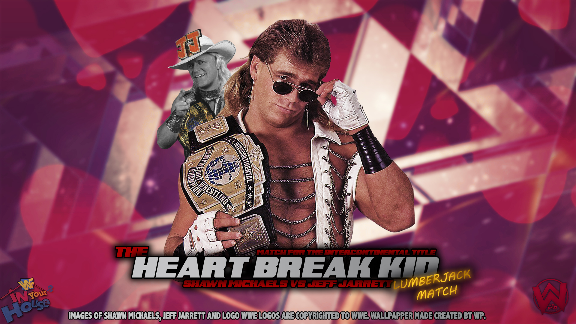 Created By WP Shawn Michaels Wallpaper by CreatedByWP