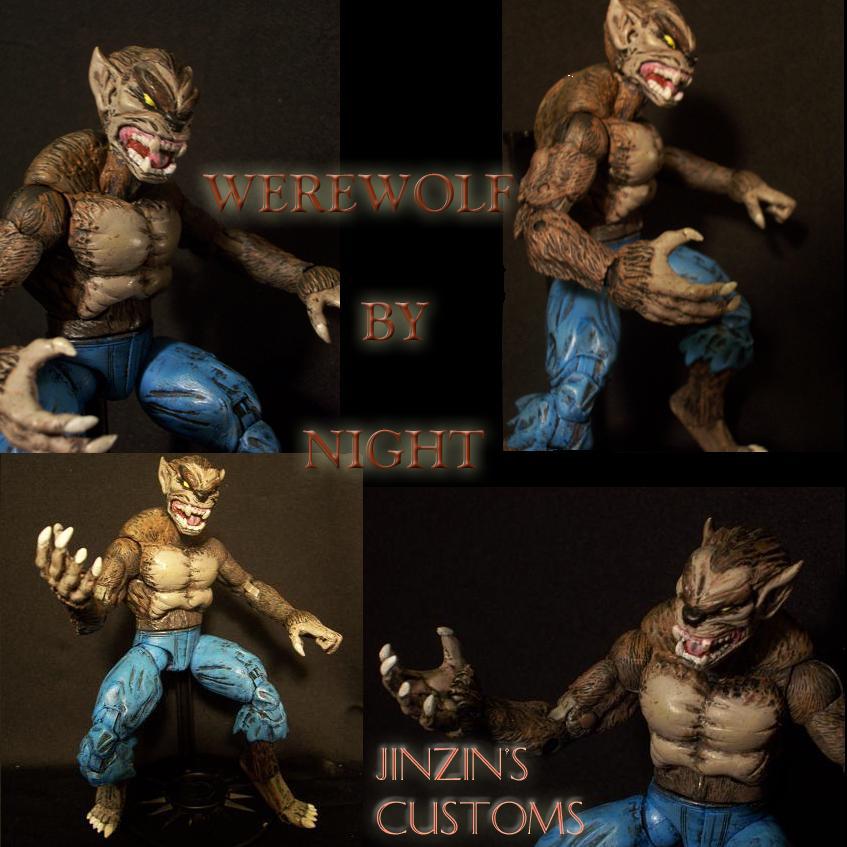 Custom figure Werewolf WBN 2 by Jinzin1