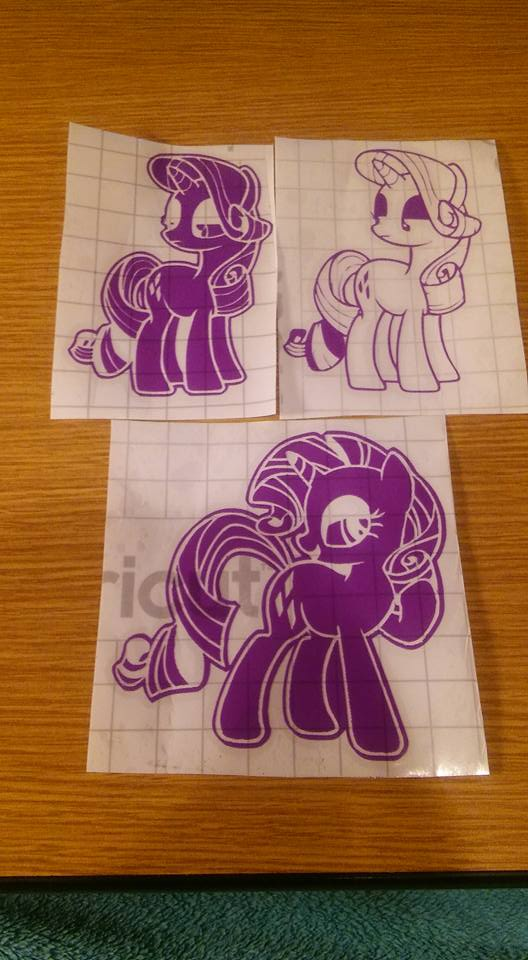 Rarity decals by SabretoothCreations