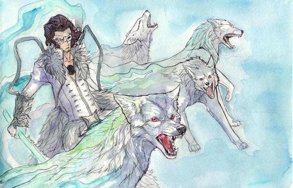 Coyote Starrk by IamSKETCHcat