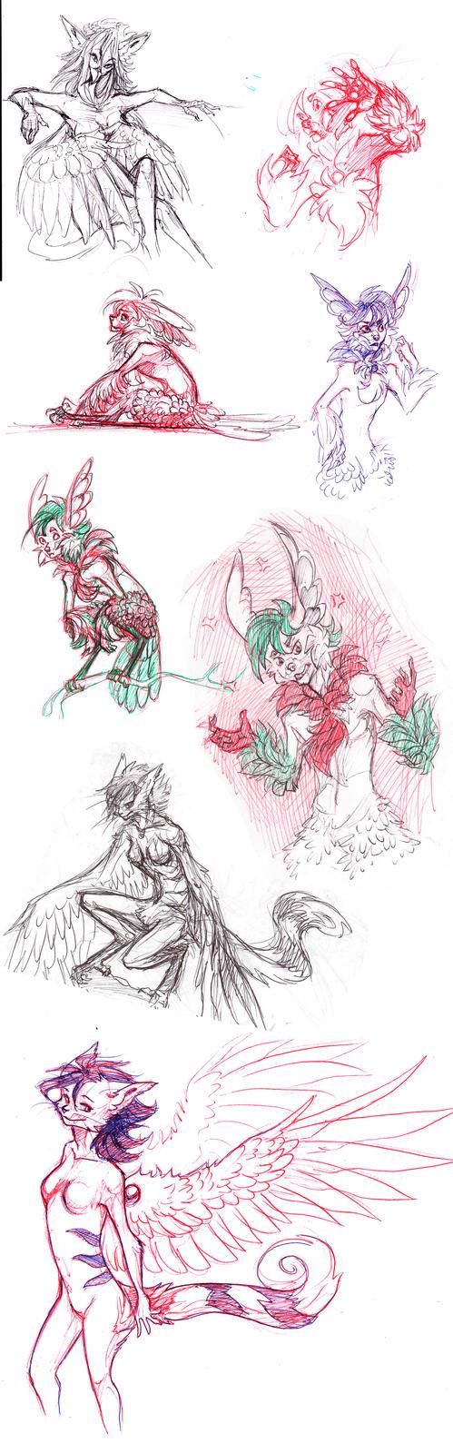 Sketchdump by IamSKETCHcat