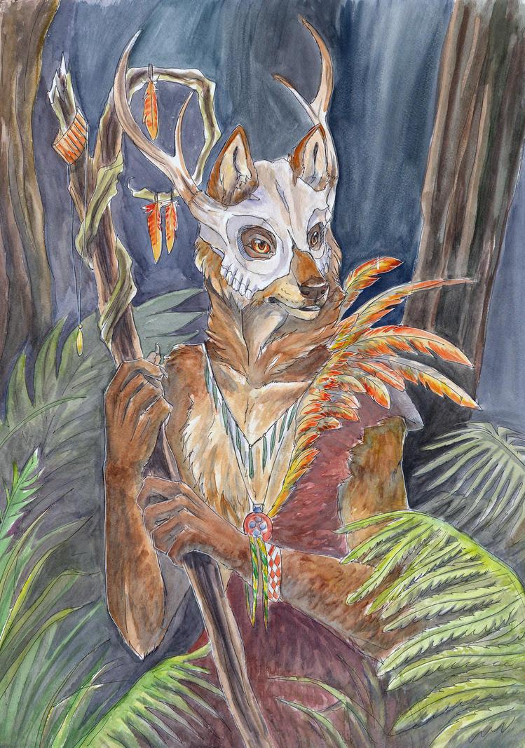 Wolf by IamSKETCHcat