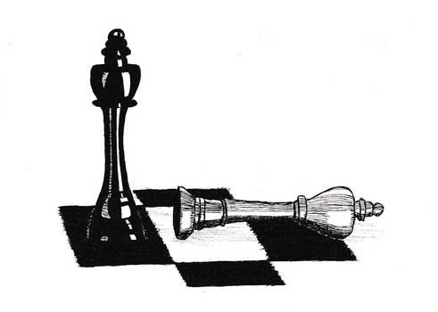 Chess (micron pen)