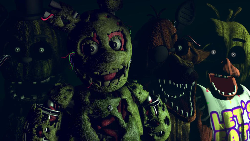 Welcome To Your New Job FNAF 3 SFM By FoxyPosterMaker