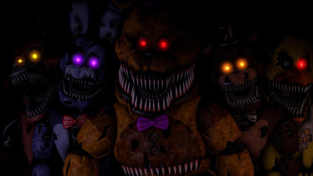 The Eyes Of Evil (Nightmare Animatronics SFM) By