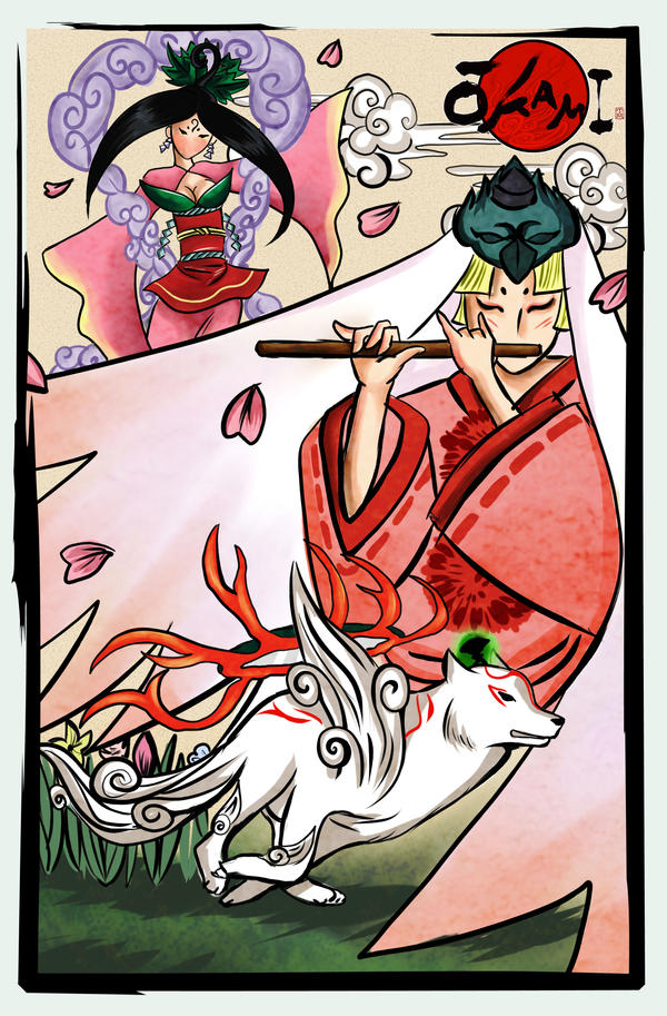 Okami by Bastet-sama
