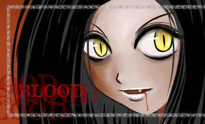 I want your blood by Bastet-sama