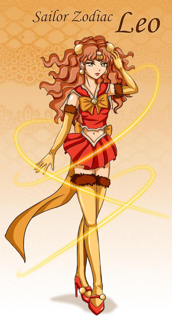 Sailor Zodiac Leo by Bastet-sama on DeviantArt