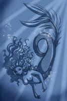 Mermaid by Bastet-sama
