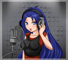 Celeste Singing by Bastet-sama