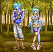 Dark elf's commission by Bastet-sama
