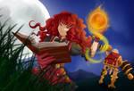 Cherlyn and the Treasure Golem