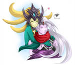 Nami and Varus - league of legends - Support