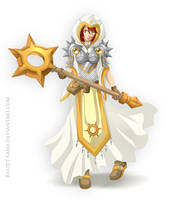 Ariadna Cleric Dungeon and Dragons