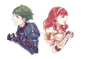 alm n celica charms