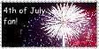 4th of July stamp by SF-Production