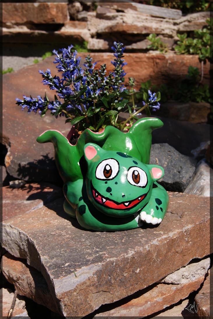 Bulbasaur Flower Pot By Limomeow On Deviantart