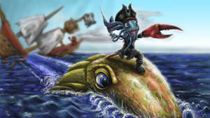 Davy Jones Fizz by LimoMeow