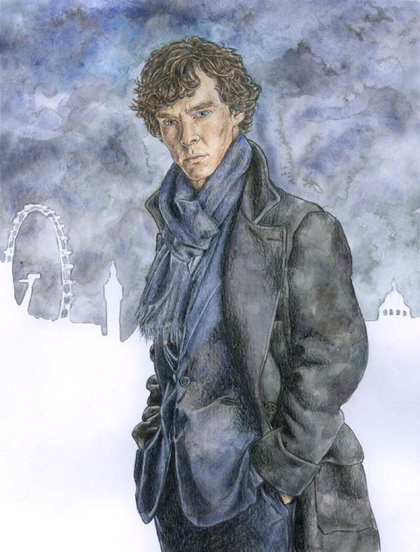 Sherlock by ThePotatoStabber
