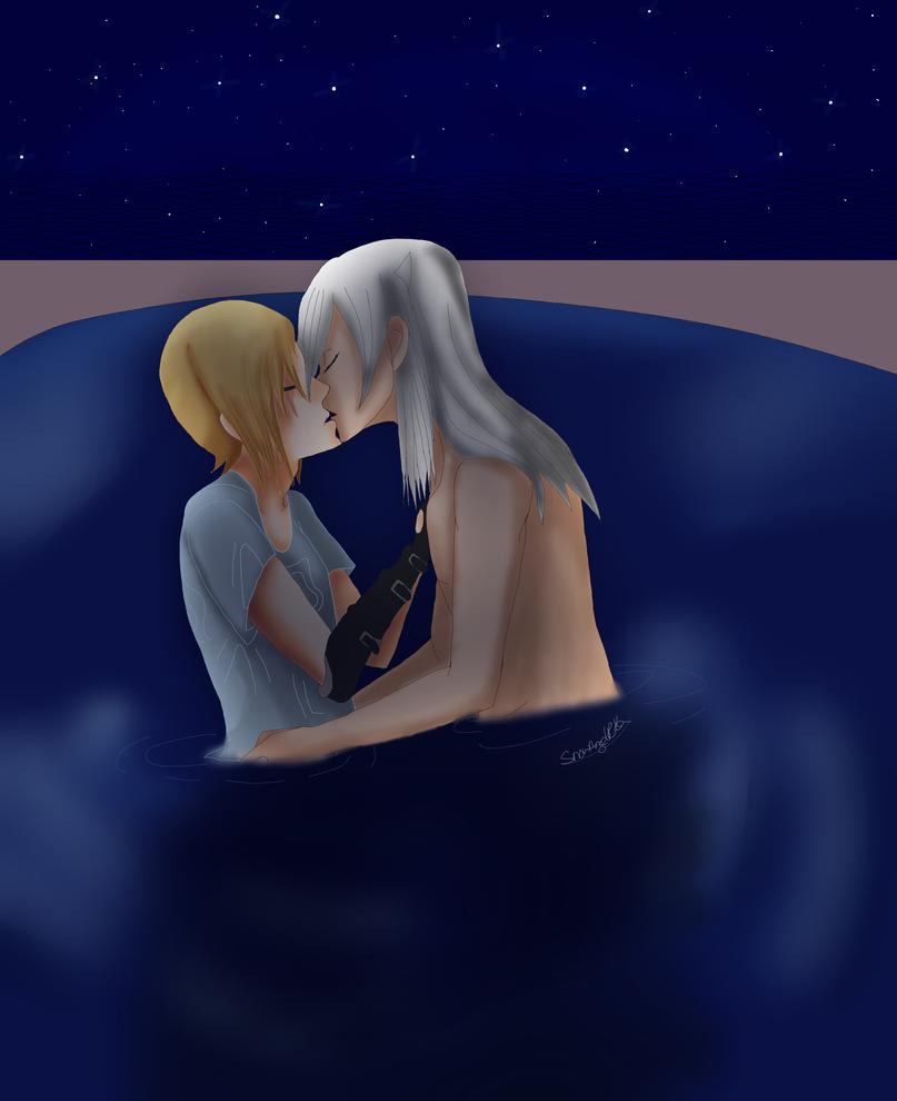 Moonlight Kiss by SnowAngelRika