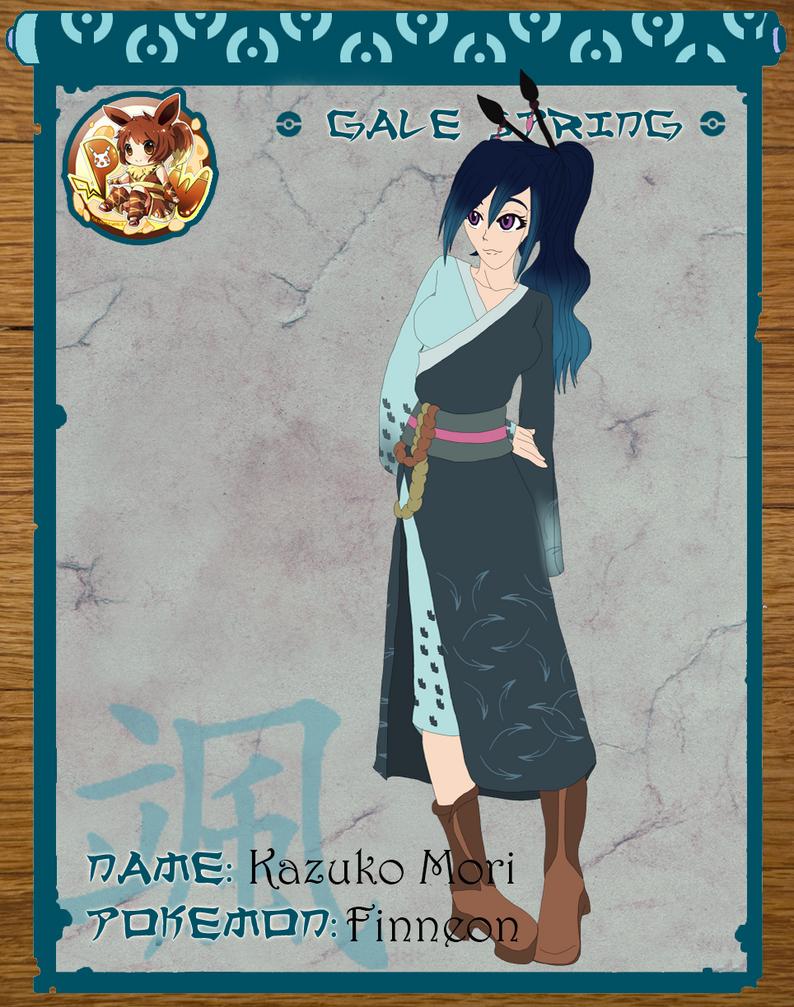 Pokimono: Kazuko Mori by SnowAngelRika