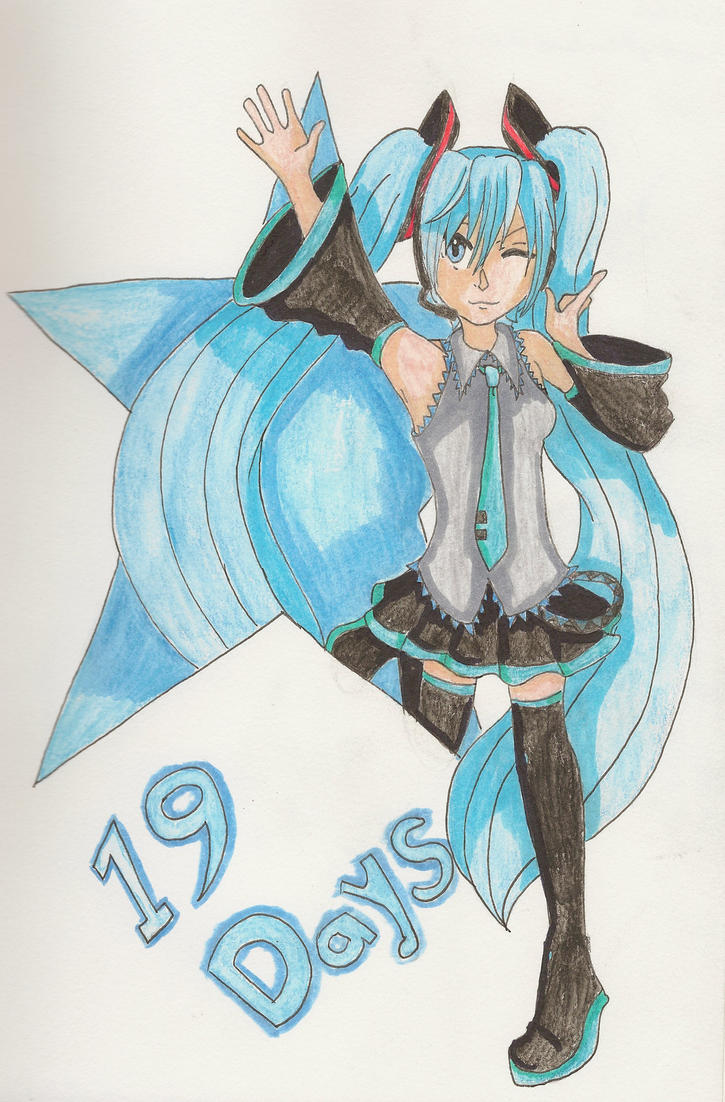 MikuExpo: Blue Star by SnowAngelRika